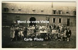 Carte Photo  - Colonie De Vacances Marie-Thérèse à Eslettes - Datée 1932 Verso - 2 Scans - Altri Comuni