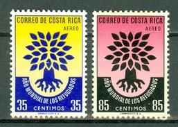 Costa Rica  1960  Yv & T. PA 289/290** , MNH - Costa Rica