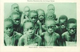 E-16-2707 : CONGO BELGE HAUT-UELE PETITES FILLES BARAMBOS - Congo Belge - Autres