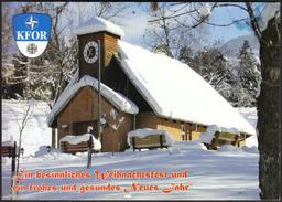 Feldpost KFOR NATO / Prizren, Kosovo / Christmas, Weihnachten - Regimientos