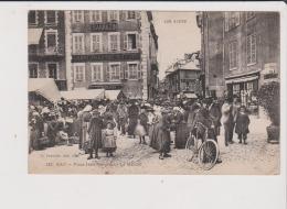 CPA - GAP - Place Jean Marcelin - Le Marché - SARRAZIN  QUINCAILLERIE & PERS - Gap
