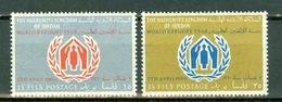 Jordan   1960 Yv & T.  339/340**,  MNH - Jordanie