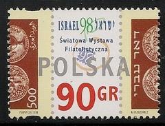 Poland: 1998 Israel '98 International Stamp Exhibition, Tel Aviv MNH - 1944-.... République