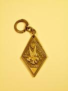INSIGNE MILITAIRE. 420 èm. D.S.L. Finul Liban. En Porte-clé En Bronze - Unclassified