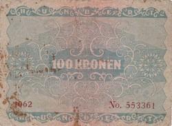 6 BILLETS DE 100 KRONEN 02/01/1922 DIVERS ETATS - Autriche