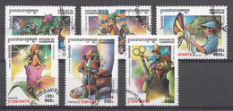 Cambodge 2000 Mi.Nr: 2133-2138 Märchen Aus Aller Welt Oblitérés / Used / Gestempeld - Camboya