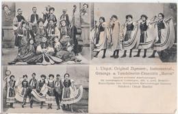 UNGARN Original Zigeuner Instrumental Gesangs U Tanzkünstler Ensemble Maros Ungelaufen - Europe