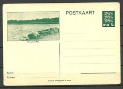 Estland Estonia 1935 Postal Stationery Ganzsache SILLAMÄE Ungebraucht/unused - Estland