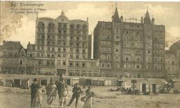 Blankenberghe Hotel Continentalet Palace Excelsior Belle Vue - Blankenberge