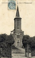 77 Eglise De  VILLEMAREUIL Env. De Saint-Fiacre , Meaux - France