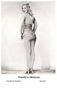 MARILYN MONROE - Film Star Pin Up PHOTO POSTCARD- Publisher Swiftsure 2000 (201/699) - Non Classés