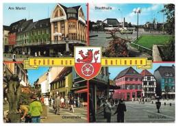 Grüße Aus Ratingen - Multivues Avec Blason - Verlag Geschw. Kellermann - Ratingen