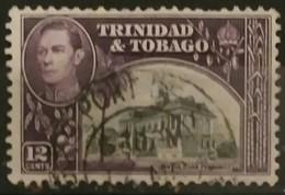TRINIDAD Y TOBAGO 1938 -1944 King George VI, Landscapes And Buildings. USADO - USED. - Trinidad & Tobago (1962-...)