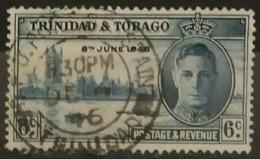 TRINIDAD Y TOBAGO 1946 Victory - The End Of The Second World War. USADO - USED. - Trinidad & Tobago (1962-...)