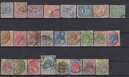 NEDERLANDS 1891-1905 LOT STAMPS - 1891-1948 (Wilhelmine)