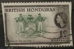 Honduras Britanica 1953 -1957 Country Images. USADO - USED. - British Honduras (...-1970)