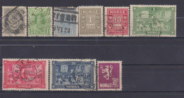 NORWAY 1877-1909 LOT STAMPS - Norvège