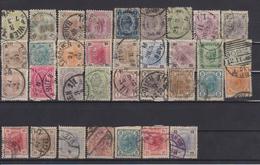 AUSTRIA 1891-1904 LOT STAMPS - Oblitérés