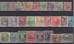 AUSTRIA 1904-1908 LOT STAMPS - Oblitérés