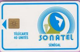 SENEGAL °° 40 Unités - Sonatel . Gem - Verso Sans N° -  R / V  **  LUXE