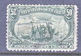 U.S. 291  Perfs.  (o)  OLD  MINER - 1847-99 General Issues