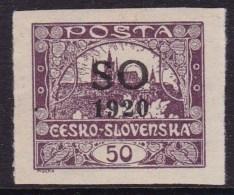 Eastern Silesia 1920 Fi 9 Mint Never Hinged - Tchécoslovaquie