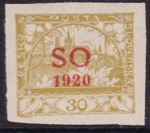 Eastern Silesia 1920 Fi 7 Mint Never Hinged - Tsjechoslowakije