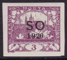 Eastern Silesia 1920 Fi 2 Mint Hinged - Tchécoslovaquie