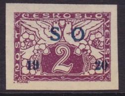 Eastern Silesia 1920 Fi E1 Mint Hinged - Autres