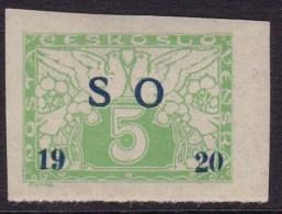 Eastern Silesia 1920 Fi E2 Mint Hinged - Cecoslovacchia