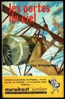 """"""" Les Portes Du Ciel """", Par Willy BOURGEOIS -  MJ  N° 128 E.O.- Récit - Aviation. - Marabout Junior"""