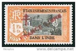 INDE ßurcharge »Croix De Lorraine Et FRANCE LIBRE»  Maury  210 II ** - India (1892-1954)