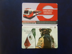 MEXICO - METRO - RECHARGEABLE CARD - - Abonnements Hebdomadaires & Mensuels
