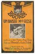 """PARTITION DU FILM BARNABE AVEC FERNANDEL CHANSON """" UN BAISER Mlle ROSE """" MUSIQUE DE ROGER DUMAS - Partitions Musicales Anciennes"""