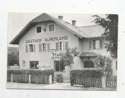 G-I-E , Cp , Hôtel & Restaurants , Autriche , GASTHOF ALPENLAND ,Salzburg , Vierge - Hotels & Restaurants