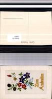 530037,Material Seiden AK Seidenkarte Zum Andenken - Ansichtskarten