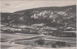 AK -NÖ  - FLATZ - Gemeinde Ternitz - Panorama 1909 - Langstempel - Neunkirchen