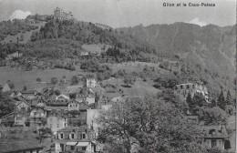 GLION → Et Le Cauc-Palace Anno 1910 - VD Vaud
