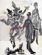 87 - LIMOGES - PROGRAMME 10 -12- 1957- AU PROFIT SAUVEGARDE ENFANCE- ENFANT- MISS MABEL THEATRE-COMEDIENS NEUVIEME HEURE - Programmi