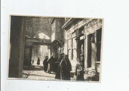 CONSTANTINOPLE PHOTO ANCIENNE VIEUX STAMBOUL . PORTE ET REMPARTS (BELLE ANIMATION) - Places