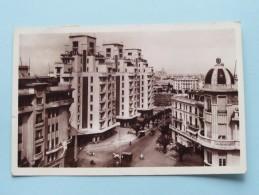Avenue POEYMIRAU Vers Le Port ( L.M.) Anno 1938 ( Zie/voir Foto Voor Details ) !! - Casablanca