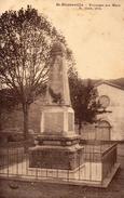 CPA ST-PIERREVILLE - MONUMENT AUX MORTS - Zonder Classificatie