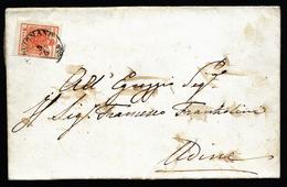 A4326) Österreich Austria Brief Von 1856 Mit EF Mi.3 - 1850-1918 Imperium