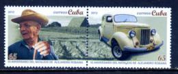 Cuba 2012 / Cars Tobacco MNH Coches Antiguos Tabaco / C8628   3 - Autos