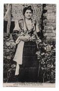 SOUVENIR D'ORIENT 1914-1918 - JEUNE FILLE SERBE EN TENUE DE FETE - Serbie