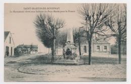 10 AUBE - SAINT MARTIN DE BOSSENAY Monument Aux Enfants Du Pays Morts Pour La France (voir Descriptif) - Andere Gemeenten
