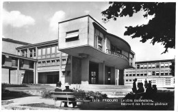 FRIBOURG → La Cité Universitaire, Fotokarte Ca.1950 - FR Freiburg