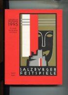 Salzburger Festspiele. Salzburg Festival. 1995. Offizielles Programm. - Alte Bücher