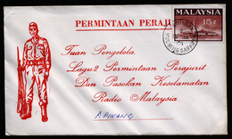 A4328) Malaysia Cover From 01/15/1966 - Malaysia (1964-...)