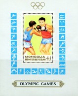 MG0390 Mongolia 1988 Olympic Games M/s MNH - Mongolia